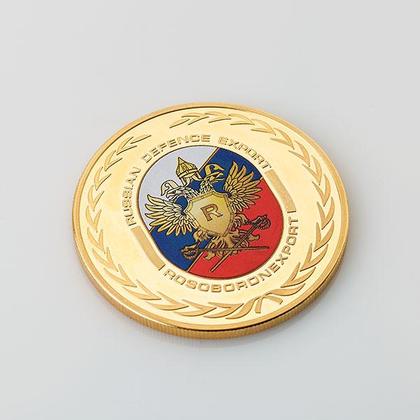 Сувенирная медаль «Рособоронэкспорт»