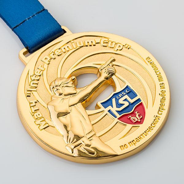 Спортивная медаль «Матч Inter premium cup»