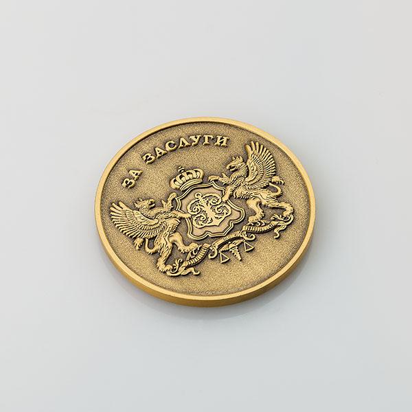 Сувенирная медаль «За заслуги. Русский регистр»