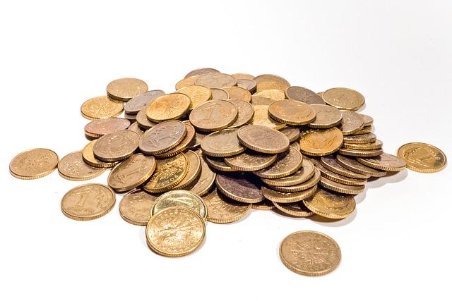 круглые монеты