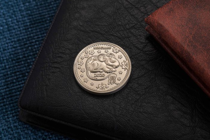 Монета «Мышь»