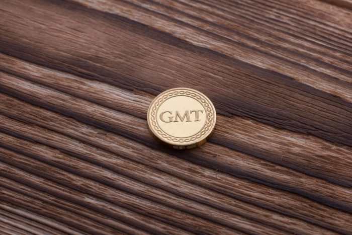 Монета «GMT»